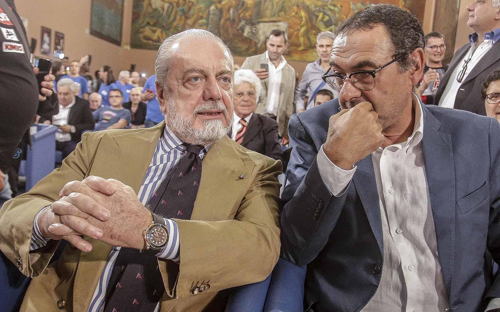 Calcio Mercato: stretta Sarri-Chelsea, manca solo l'ok di De Laurentiis